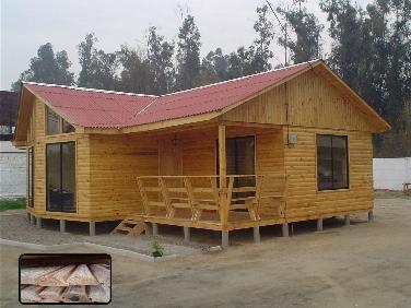 Casas prefabricadas madera casa prefabricadas santiago - Fotos casas de madera prefabricadas ...